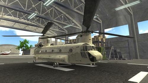 陆军直升机海上救援游戏截图