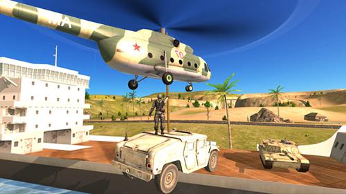 陆军直升机海上救援截图1