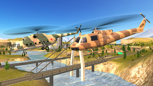 陆军直升机海上救援截图2