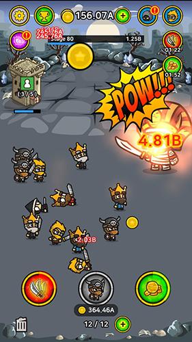 放置战斗英雄无限金币版截图4