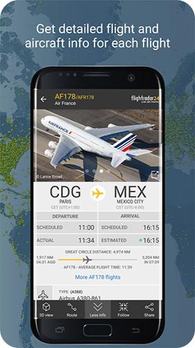 全球航班雷达app截图2