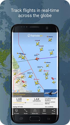 全球航班雷达app截图6