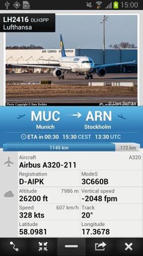 全球航班雷达app图片