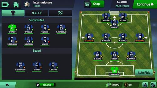 夢幻足球世界單機版游戲截圖2