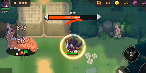 坎公骑冠剑妖精与湖挑战怎么打5