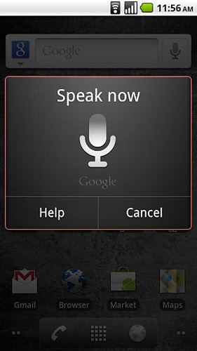 google語音搜索app截圖2