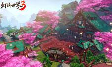 國風武俠大作《劍俠世界3》風景實機演示視頻重磅來襲