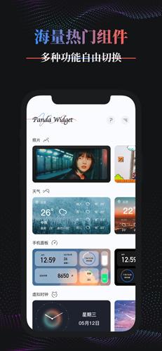 Panda WidgetApp截图6
