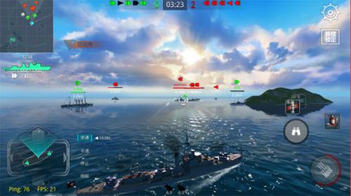 戰艦獵手破解版全部戰艦都解鎖