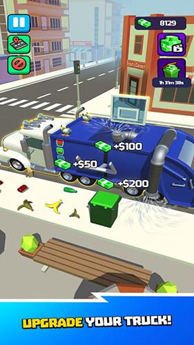垃圾車3D游戲截圖