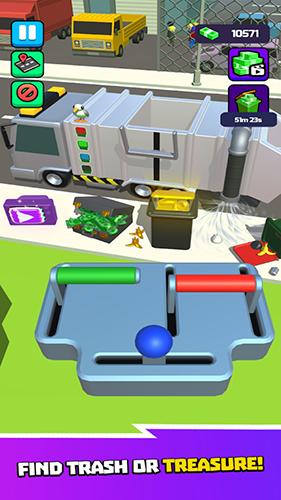 垃圾車3D截圖1