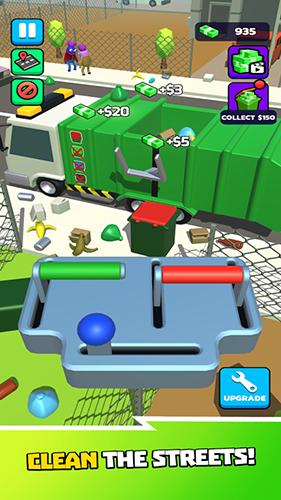 垃圾車3D截圖3