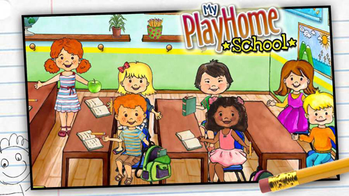 娃娃屋校園游戲完整版截圖1