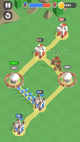 城堡爭奪戰無敵版截圖2