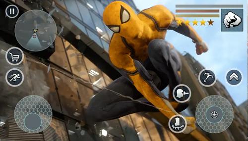 超級蜘蛛繩英雄無限金幣版截圖5