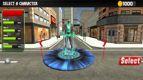 超級蜘蛛繩英雄無限金幣版圖片2
