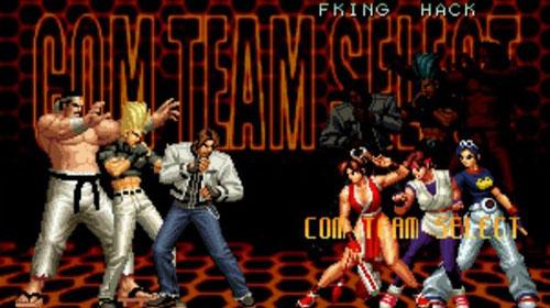 拳皇2002风云再起加强版图片2