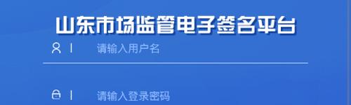 山东省市场监管全程电子化app软件特色