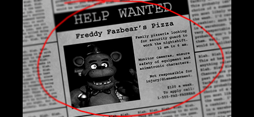 Five Nights at Freddy's截图4