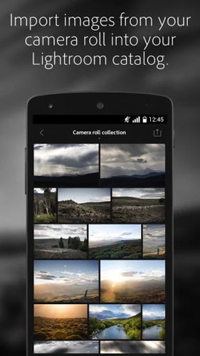 Adobe Lightroom mobile APP截图1